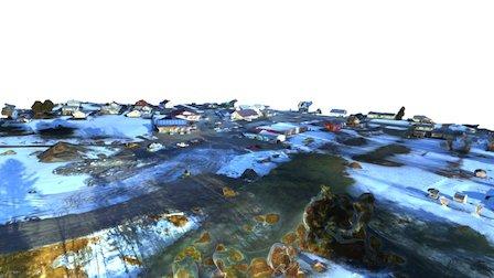 Village Center Alton NH 3D Model