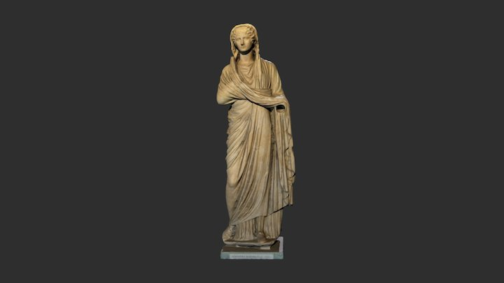 Agrippina Minore 3D Model