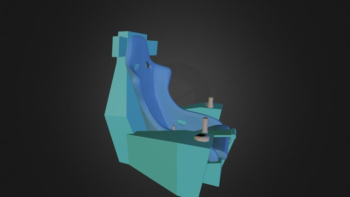 Cams Chair 3D Model