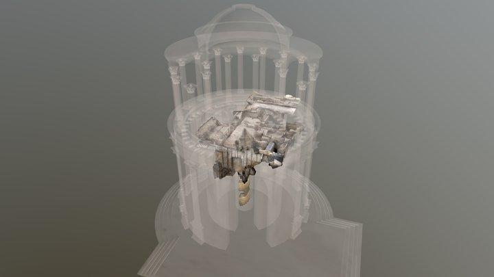 Cenatio rotunda - 80 ans CNRS 3D Model