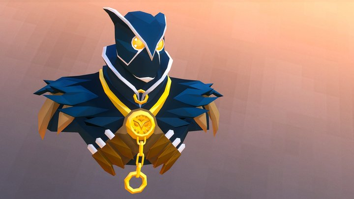 Court of Owls - Talon Assassin 3D Model