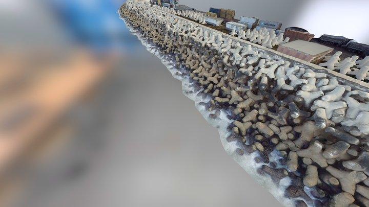 ETAFAT : PORT OF AGADIR MOROCCO - BY DRONE 3D Model