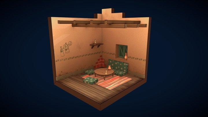 Ali's room 3D Model