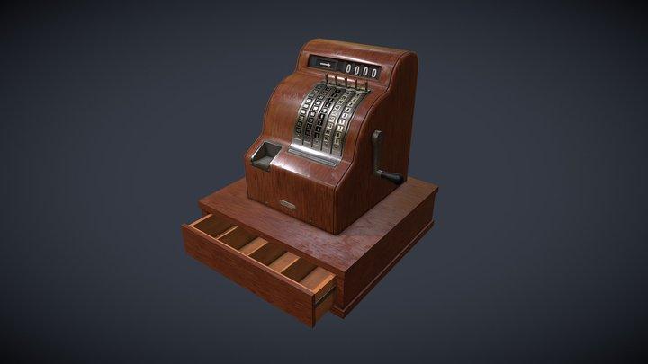 Cash Register 01 3D Model