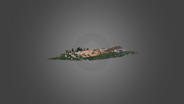 HYR Horse Ranch - Existing Site 3D Model