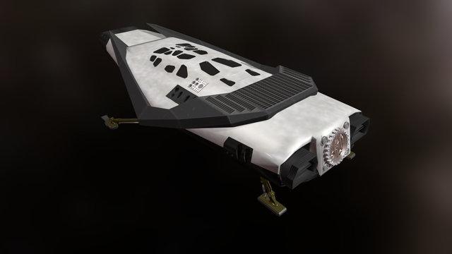 Interstellar - Ranger Spacecraft 3D Model