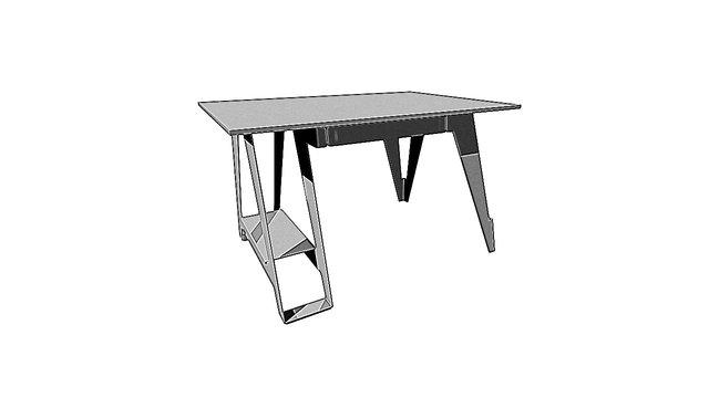 5070 Bureau 3D Model