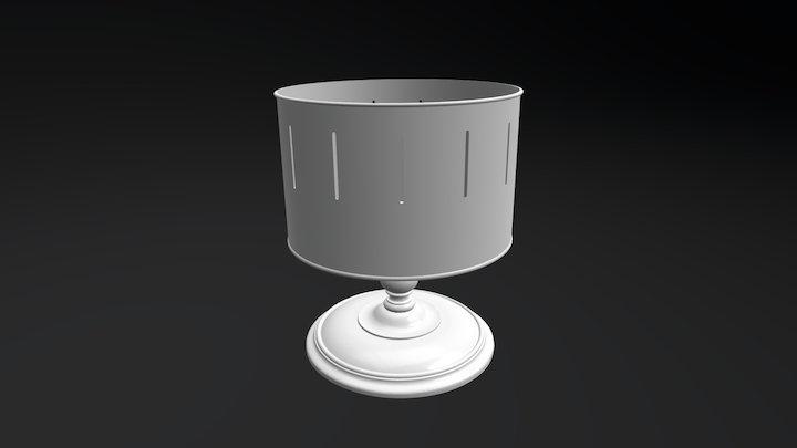 19th Century Zoetrope 3D Model