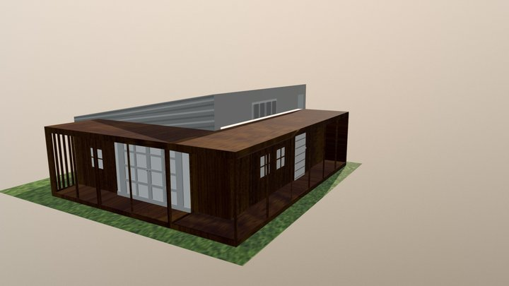 Upcycle House 3D Model