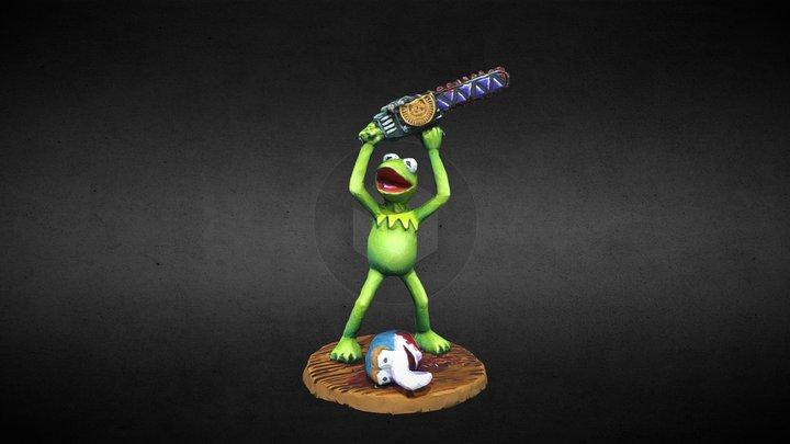 Kermit 3D Model