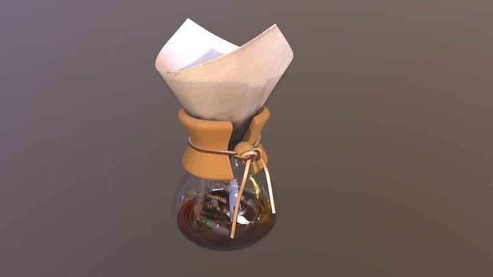 Chemex coffeemaker 3D Model