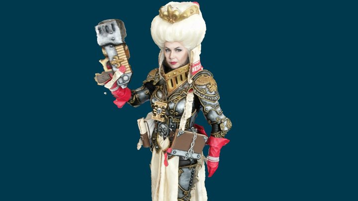 """""""Okkido"""" as Ordo Hereticus Inquisitor from WH40k 3D Model"""
