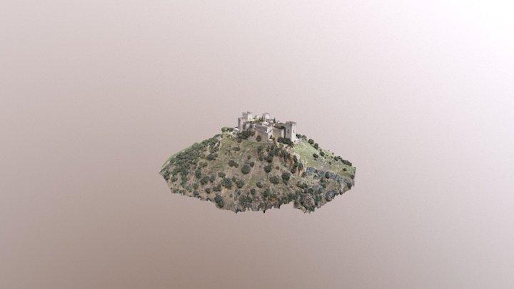 Almodovar castle 3D Model