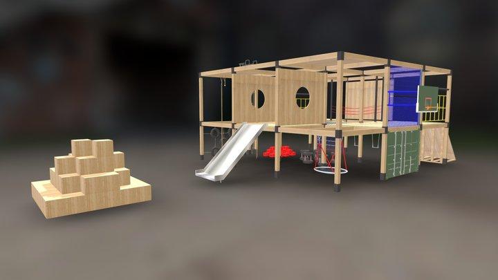 Play House 2 3D Model