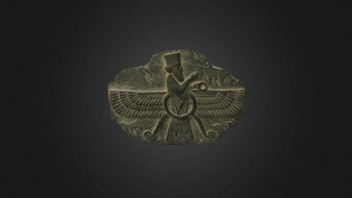 Placa dios solar 3D Model