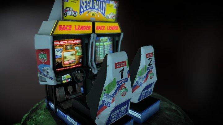 Sega Rally Arcade Twin (Update Textures) 3D Model