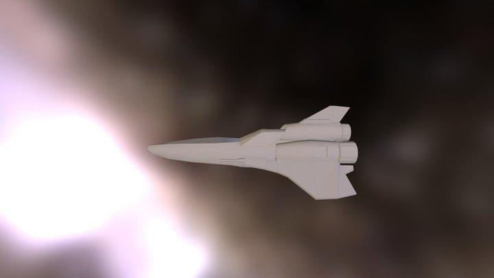 Viper BSG 3D Model