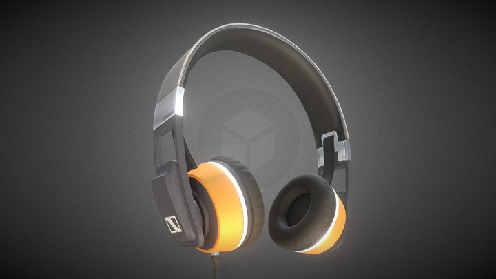 Headphone 3D Model