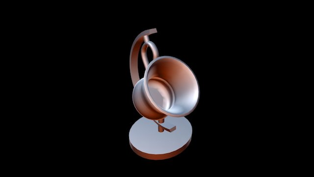 The earth is my cup of tea. 3D Model