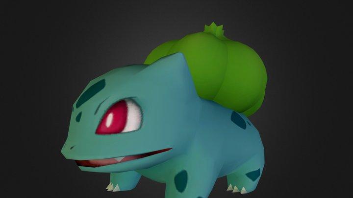 001 - Bulbasaur.zip 3D Model
