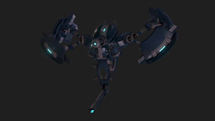 Rotary Construct 3D Model