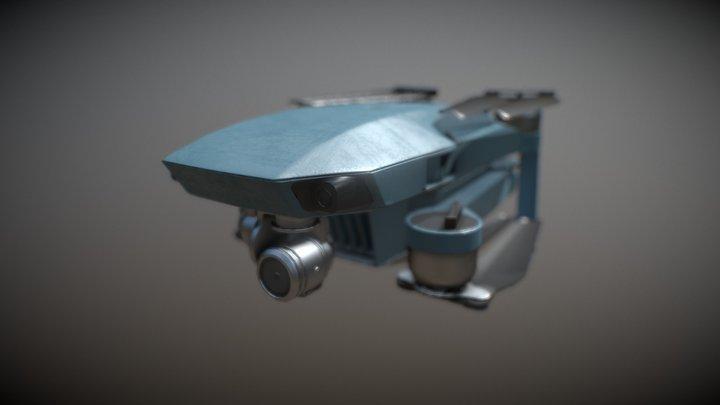 Dron dji mavic game model 3D Model