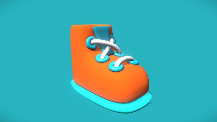 Stylised Shoe 3D Model