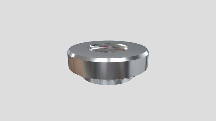 Type S / CLS Self-clinching nut - Einpressmutter 3D Model