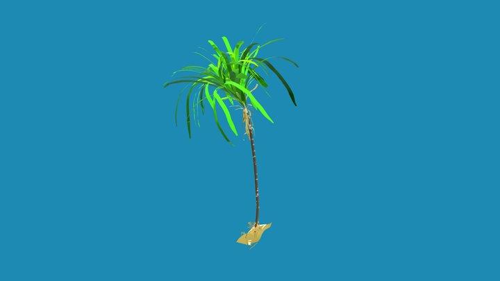 Sugarcane 3D Model