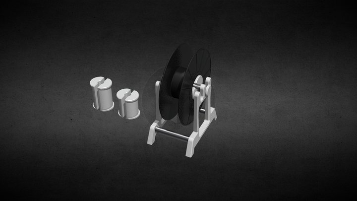 Filament-Reel-Holder 3D Model
