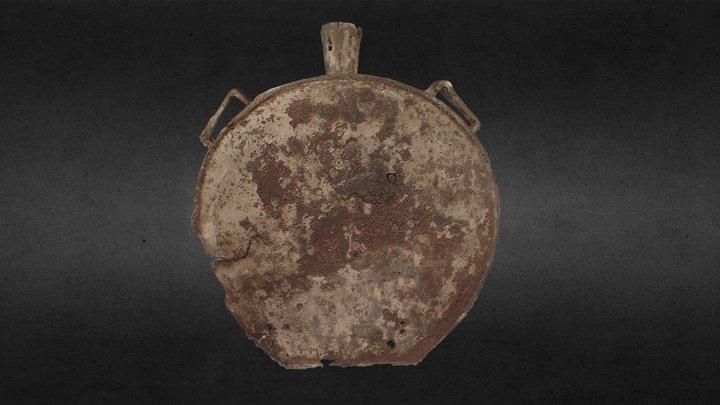 Veldfles 14e/15e eeuw 3D Model