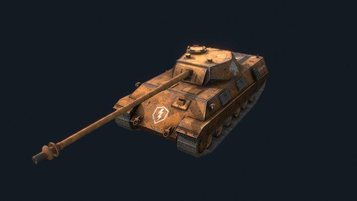 P.44 Pantera 3D Model