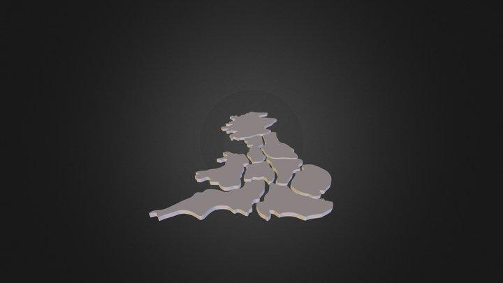 uk-map 3D Model
