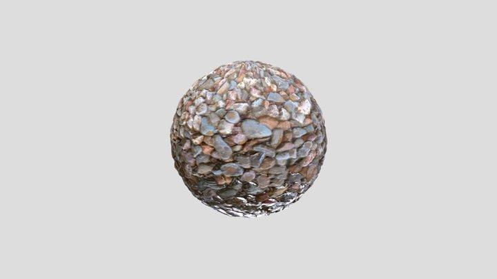 Small Rocks Material HD Photogrammetry 3D Model