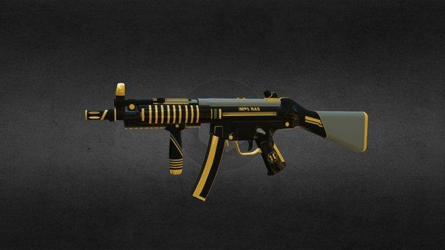 MP5 RAS 3D Model