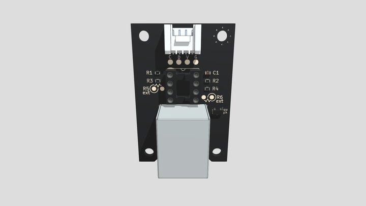 Grove用I2C通信距離延長モジュール 3D Model