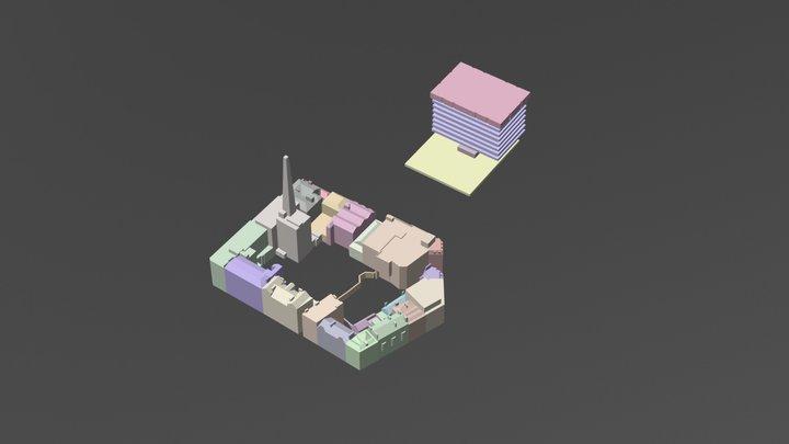 Theatre 3D Model