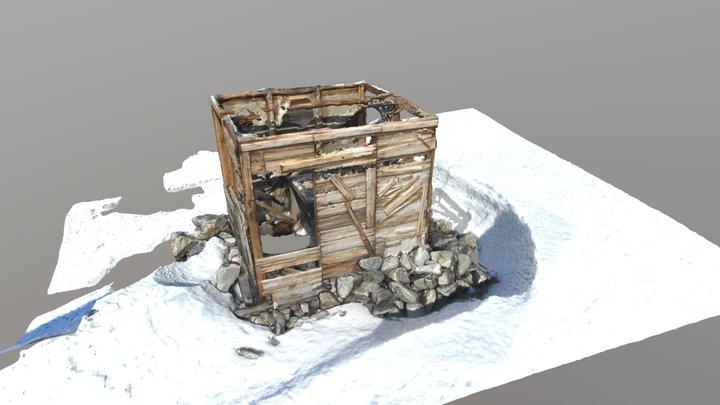 Transit Hut 3D Model Textured 3D Model