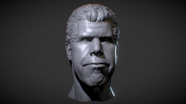 Ron Perlman 3D Model
