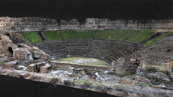 Roman Amphitheatre - Agisoft Coaching 3D Model