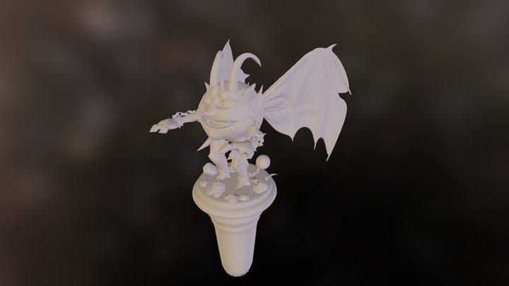 Wind Devil 3D Model