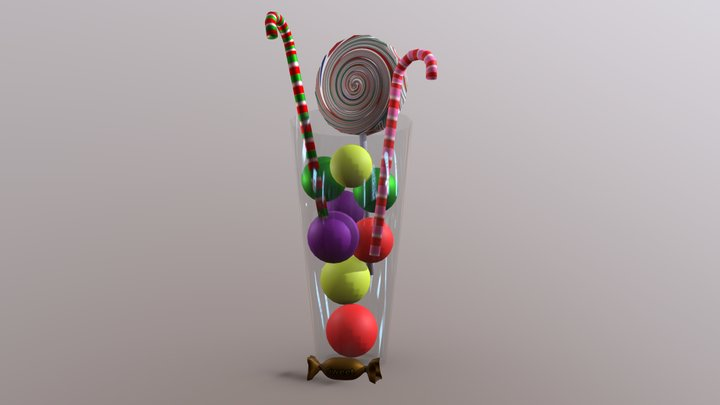 Candy 3D Model
