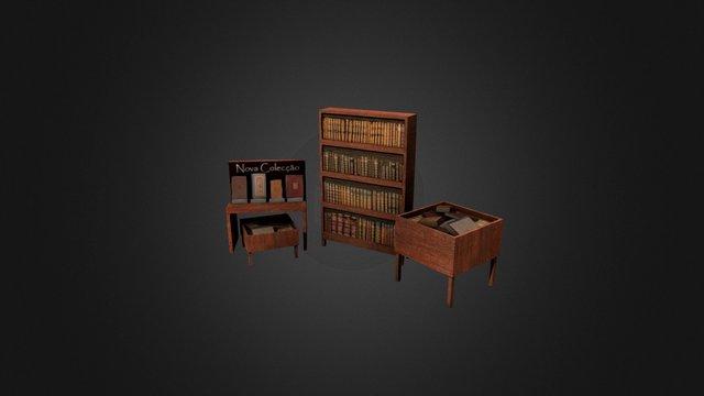 Prop_Books 3D Model