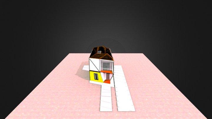 VIVIENDA INDUSTRIALIZADA 3D Model