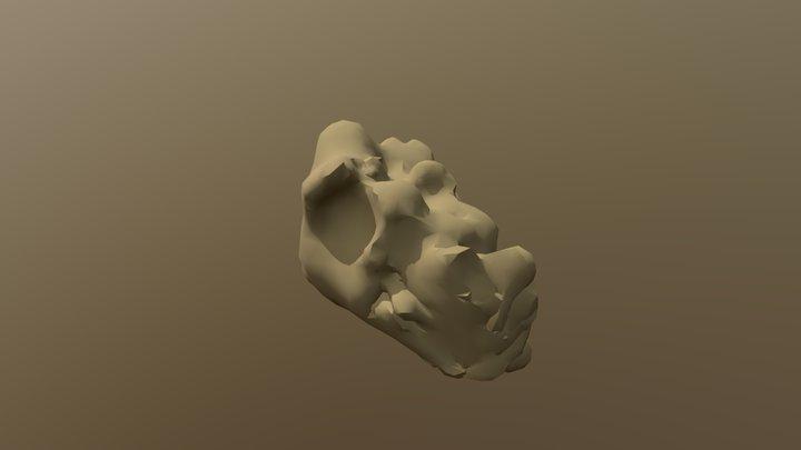 Rock Sculpt 3D Model