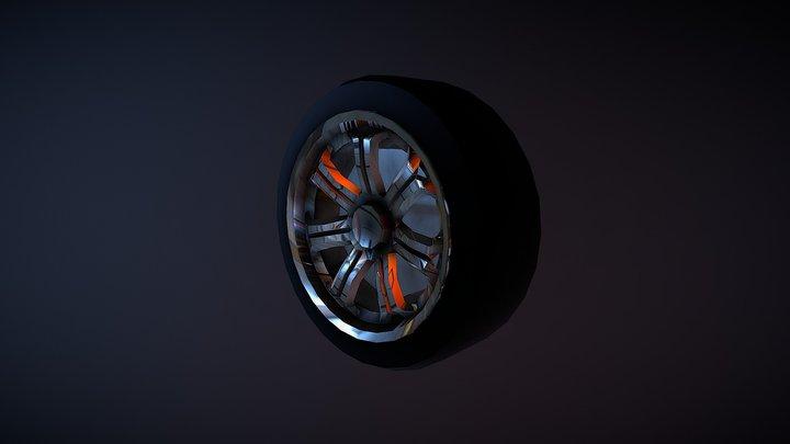 Ocelot F620 Wheel 3D Model