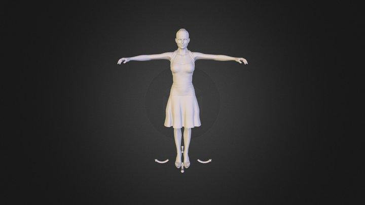 Summergirl.obj 3D Model