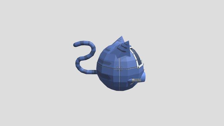 Nave Gatinho 3D Model
