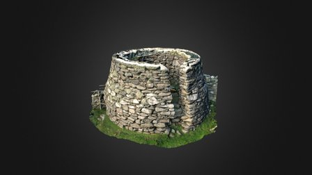 Lime Kiln, Lunna, Shetland Isles 3D Model