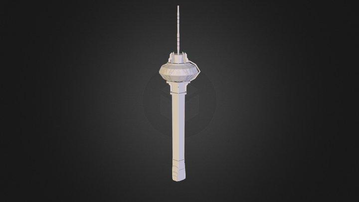 TVTower.obj 3D Model